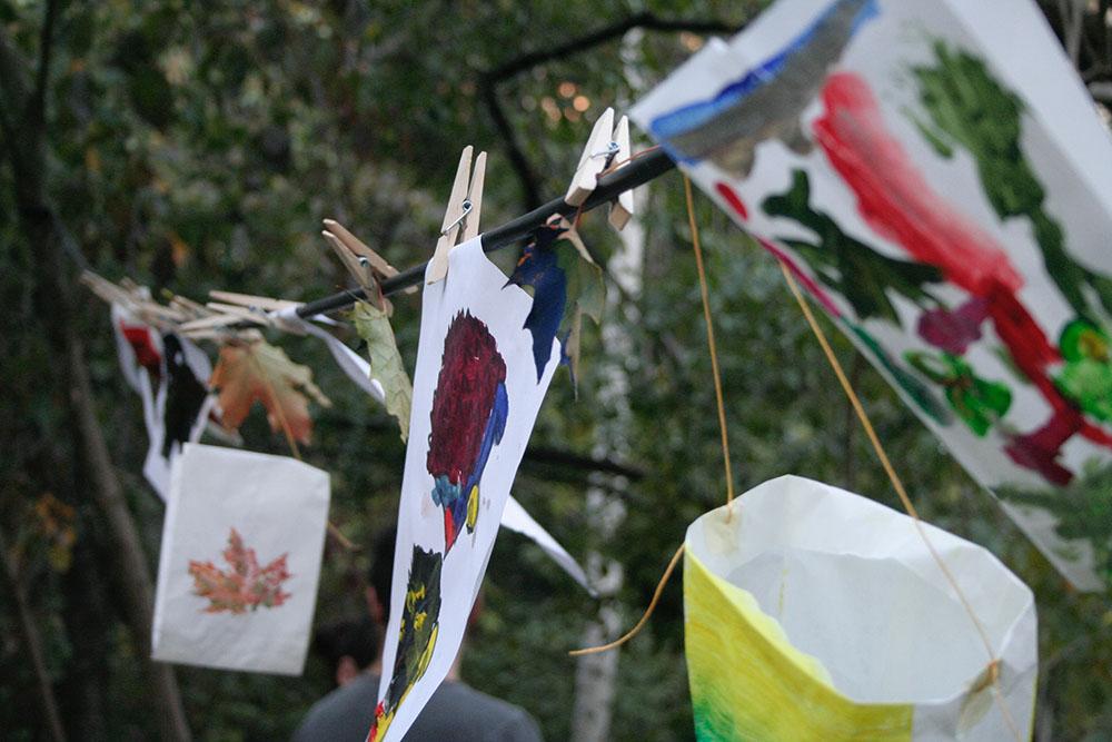 Dekoration für das Herbstfest