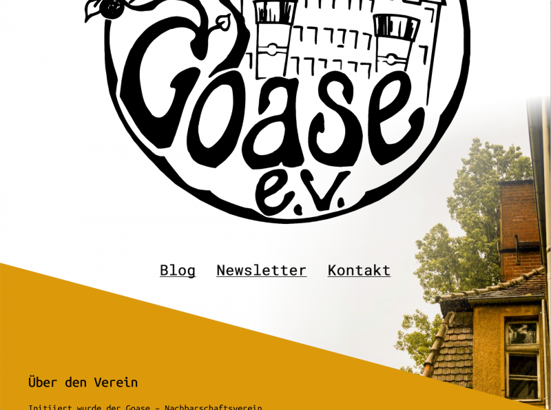 Screenshot goase-ev.de